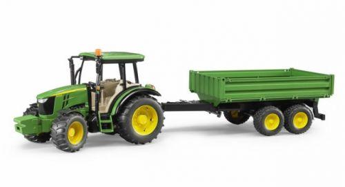 BRUDER 2108 Traktor John Deere 5115 M s valníkem cena od 539 Kč