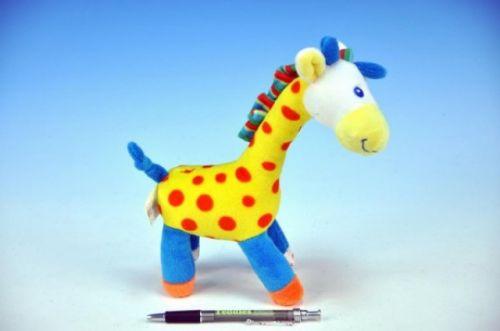 MIKRO TRADING Žirafa plyš 23 cm cena od 104 Kč