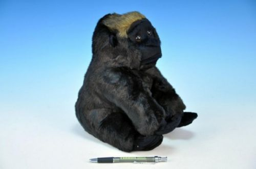 MIKRO TRADING Gorila KAMBA plyš sedící 25 cm