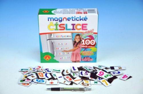 PEXI Magnetické číslice na lednici 100 dílků