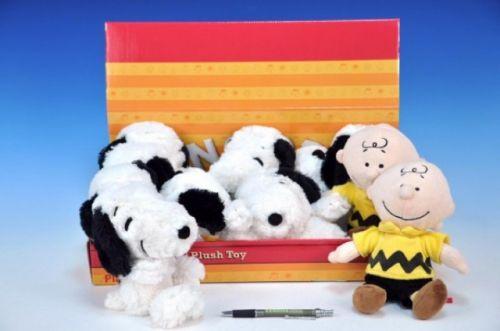 MIKRO TRADING Snoopy 20 cm a Charlie 21 cm cena od 195 Kč
