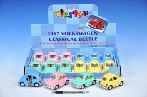 MIKRO TRADING Auto VW Beetle Classic 1967 kov 10 cm cena od 90 Kč