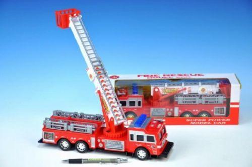 TEDDIES Auto hasiči plast 30 cm cena od 0 Kč
