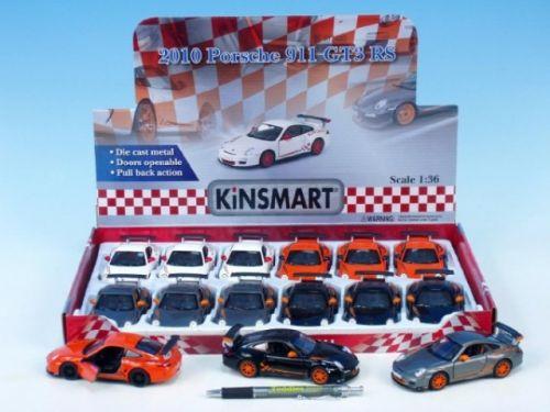 MIKRO TRADING Auto Kinsmart Porsche 911 GT3 RS 2010 kov 12 cm cena od 149 Kč