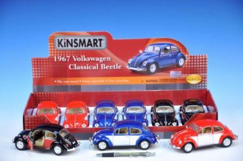 MIKRO TRADING Auto Kinsmart VW Cllassical Beetle 1967 kov 17 cm cena od 187 Kč