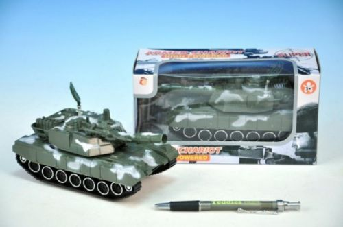 WIKY Tank plast na setrvačník se světlem se zvukem 16 cm