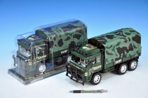 MIKRO TRADING Auto vojenské nákladní plast s plachtou 30 cm cena od 0 Kč