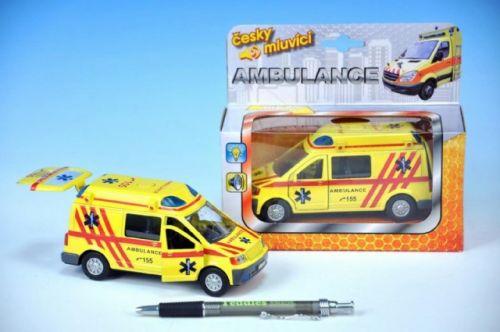 MIKRO TRADING Auto ambulance kov 13 cm cena od 189 Kč