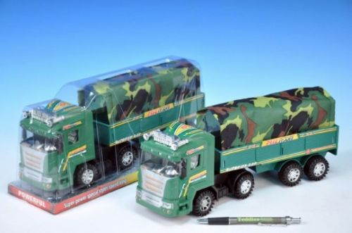 TEDDIES Auto vojenské plast 31 cm cena od 120 Kč