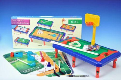 TEDDIES Hra 6v1 sportovní v krabici cena od 129 Kč