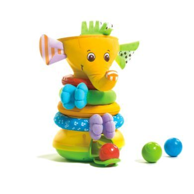 TINY LOVE Musical Stack & Ball Game Slon