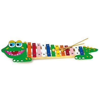 LEGLER Xylofón krokodýl cena od 290 Kč