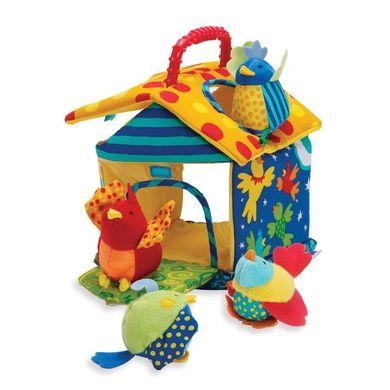 MANHATTAN TOY Baby Motorická hračka ptačí domeček