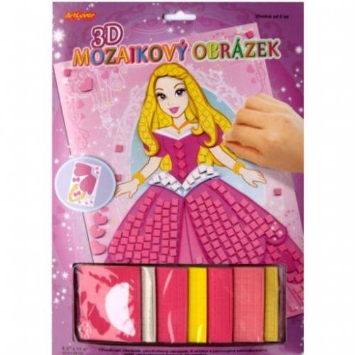 ArtLover 3D Mozaikový obrázek Princezna