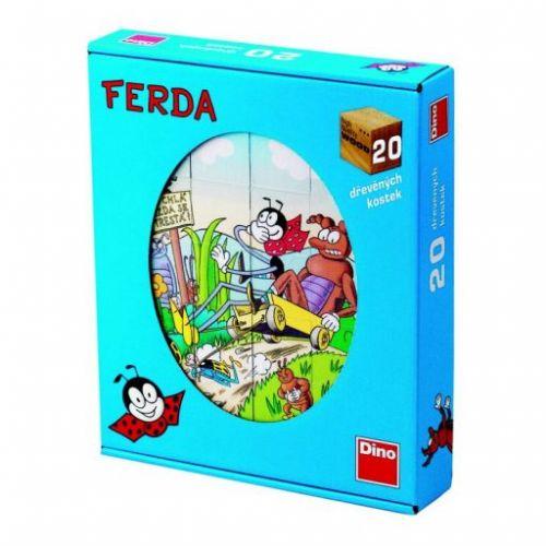 Dino Toys Dětské obrázkové kostky Ferda Mravenec cena od 0 Kč