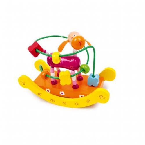 Legler Dřevěný motorický labyrint Žirafa cena od 249 Kč