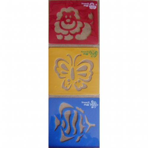 ArtLover Kreslící šablony Lev, Motýl, Ryba cena od 33 Kč