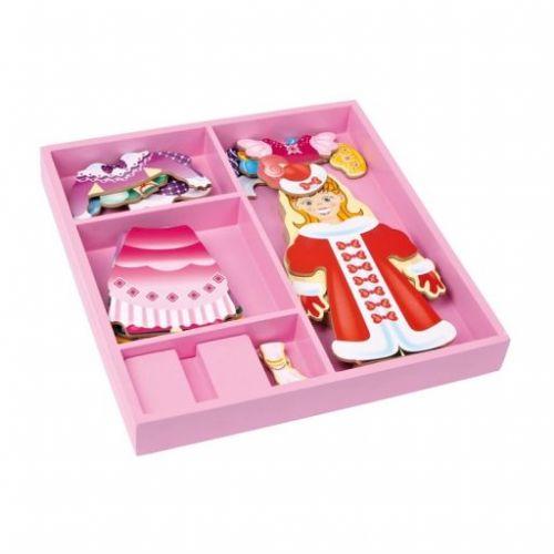 Legler Dřevěný oblékací box Princezna cena od 332 Kč