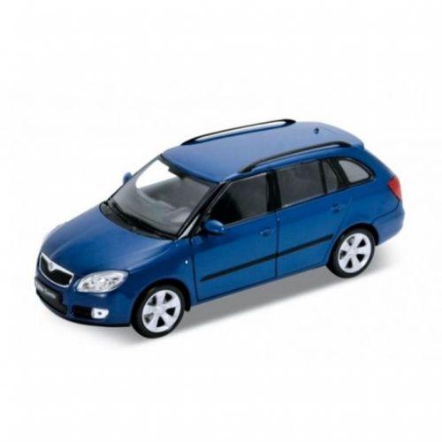 Welly Škoda Fabia Combi Modrá 2009 1:24 cena od 370 Kč
