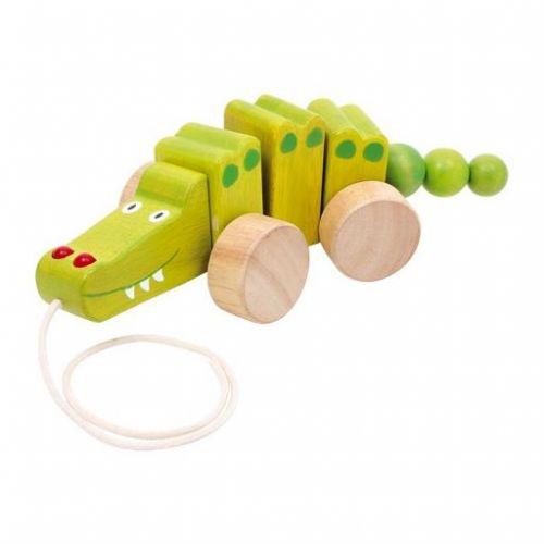 Legler Tahací Krokodýl na provázku cena od 299 Kč