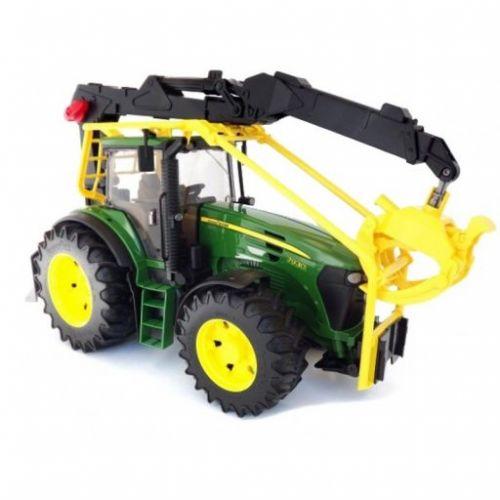 Bruder 3053 Lesnický traktor John Deere 7930 s ramenem cena od 895 Kč