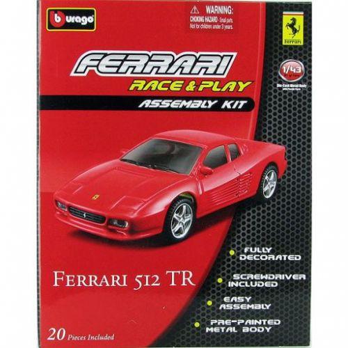 Bburago Ferrari 512 TR KIT 1:43 cena od 114 Kč