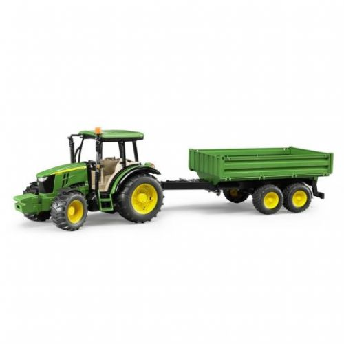 Bruder 2108 Traktor John Deere 5115M a valníčkem cena od 599 Kč