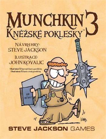 Steve Jackson Games: Munchkin 3. rozšíření