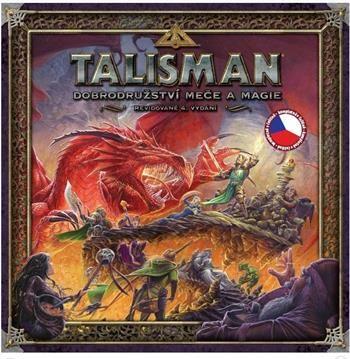 Fantasy Flight Games: Talisman: Dobrodružství meče a magie - 4. vydání