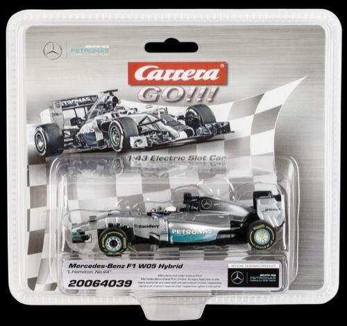 Carrera GO!!! 64039 Mercedes-Benz F1 W05 Hybrid cena od 0 Kč