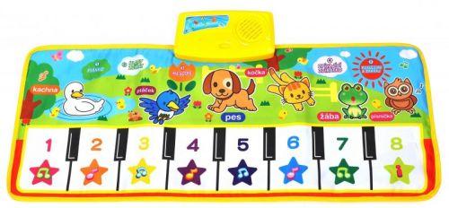 Mac Toys Hrací piáno se zvířátky cena od 221 Kč