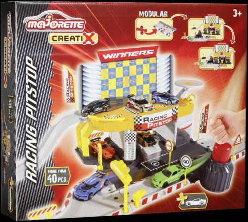 Majorette Creatix Racing Pitstop + 1 Car cena od 496 Kč