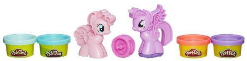 Hasbro Play-Doh MLP vytlačovátka ve tvaru poníků cena od 160 Kč