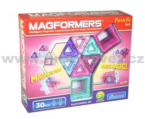Magformers 30 Pastelle cena od 1093 Kč