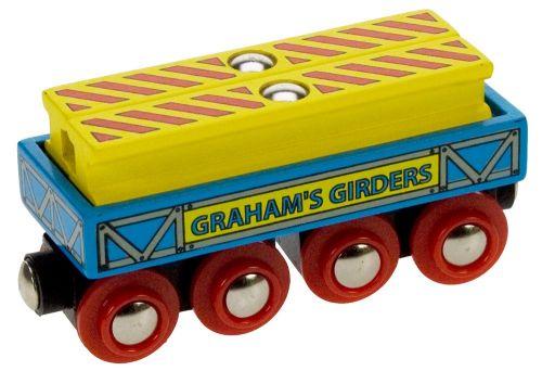 Bigjigs Vagónek se dvěma nosníky