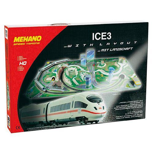 Mehano Train set ICE 3 with layout cena od 5000 Kč