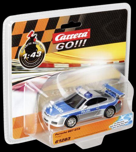 Carrera GO!!! Porsche 997 GT3 Policie 61283 cena od 429 Kč