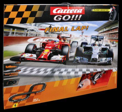 Carrera GO!!! Final Lap! 62365 cena od 1562 Kč