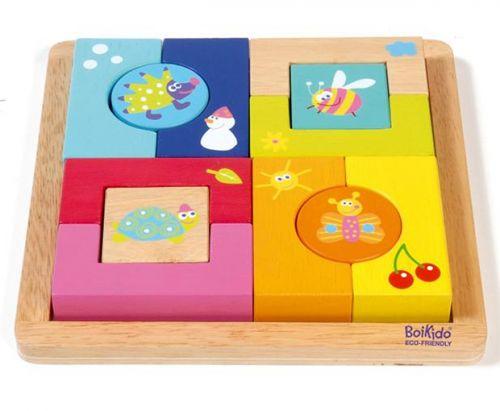 Boikido Puzzle 4 roční období cena od 659 Kč
