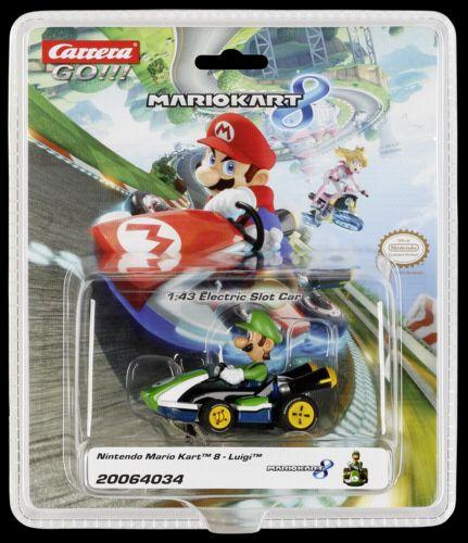 Carrera GO!!! 64034 Nintendo Mario Kart 8 - Luigi cena od 403 Kč
