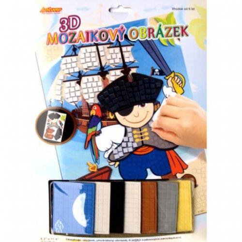 ArtLover Mozaikový 3D obrázek Pirát cena od 91 Kč