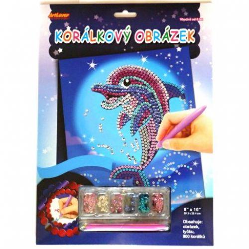 ArtLover Flitrový obrázek Delfín cena od 91 Kč