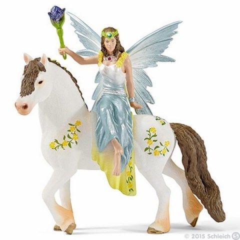 SCHLEICH Víla Eyela ve slavnostním oděvu na koni cena od 314 Kč