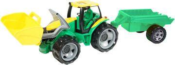 Lena Traktor se lžící a přívěsem