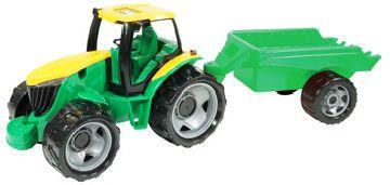 Lena Traktor bez lžíce a bagru s přívěsem
