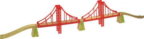 Bigjigs Dvojitý železniční most cena od 370 Kč