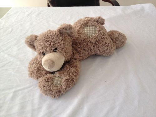Alltoys Medvídek plyšový ležící 50 cm cena od 0 Kč