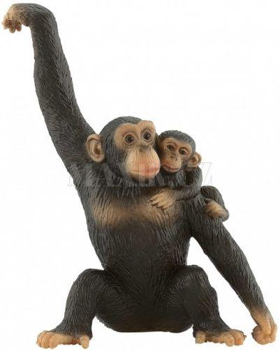 Bullyland Šimpanzice s mládětem cena od 129 Kč