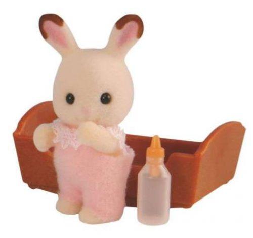 Sylvanian Families Baby chocolate králík Sylvanian family cena od 128 Kč