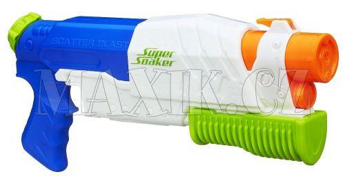 Nerf Super Soaker vodní pistole vystřelující 5 proudů cena od 425 Kč